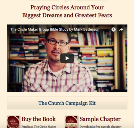 mark batterson the circle maker